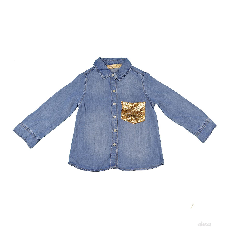 Lillo&Pippo teksas košulja,devojčice