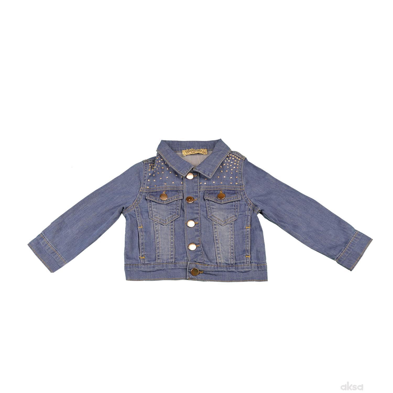 Lillo&Pippo teksas jakna,devojčice
