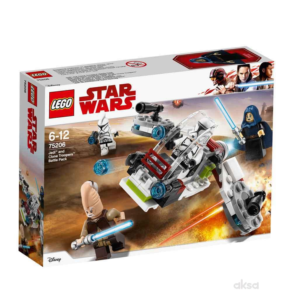 Lego Star Wars Jedi And Clone Troopers Battle Pack