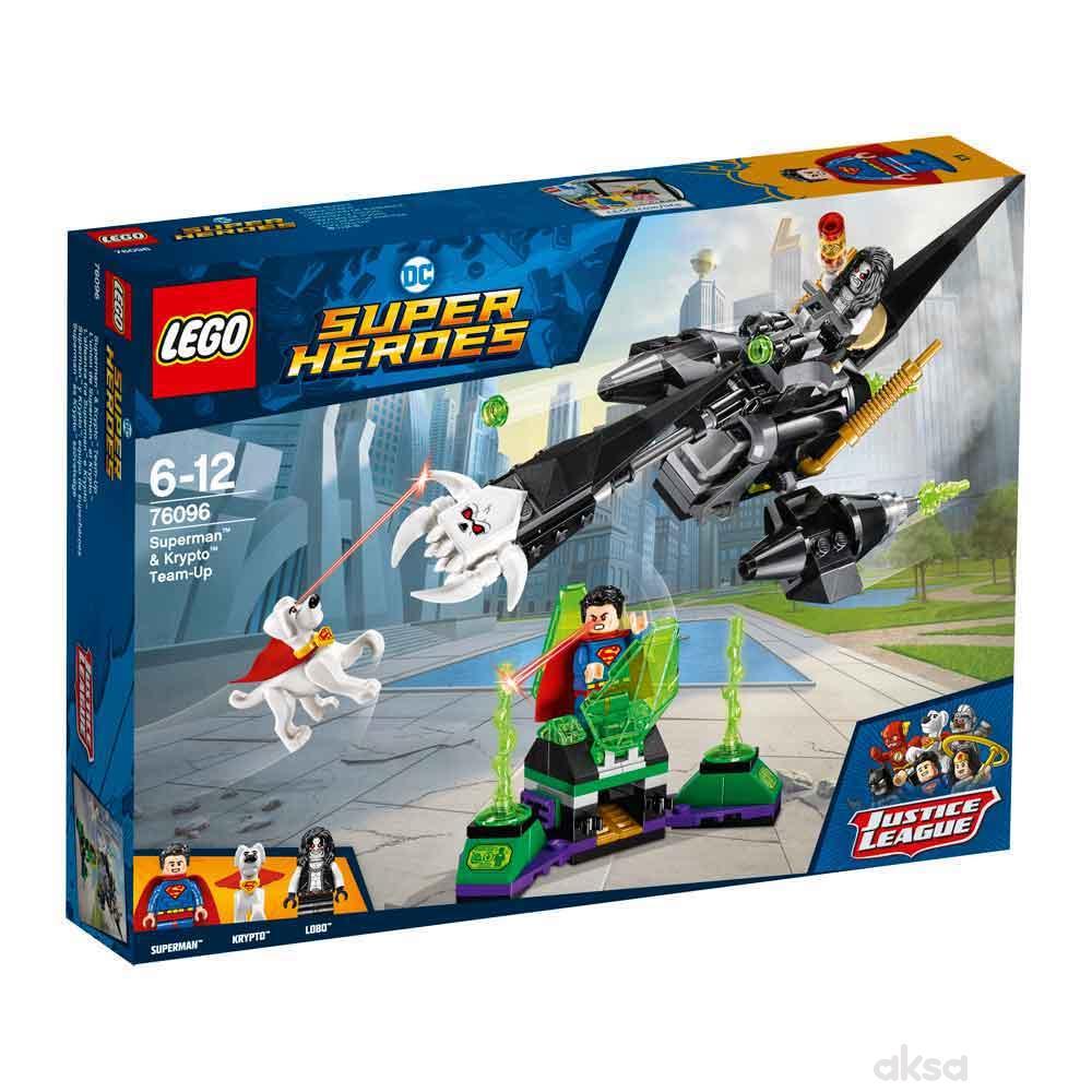 Lego Super Heroes Superman And Krypto Team