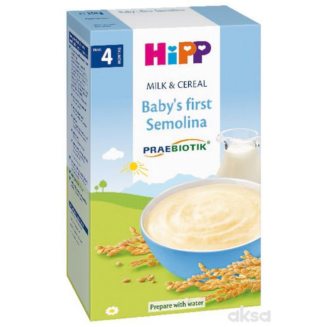 Hipp mlečna instant kaša bebin prvi griz 250g