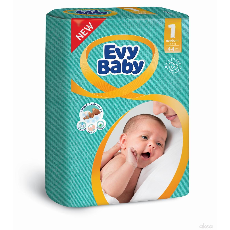 Evy baby pelene 1 newborn 2-5kg  44 kom