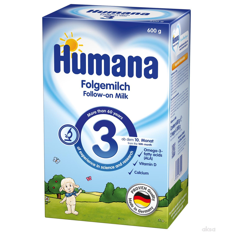 Humana mleko 3 600 gr,