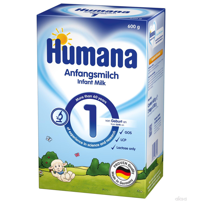 Humana mleko 1 PB 600g, od rođenja,