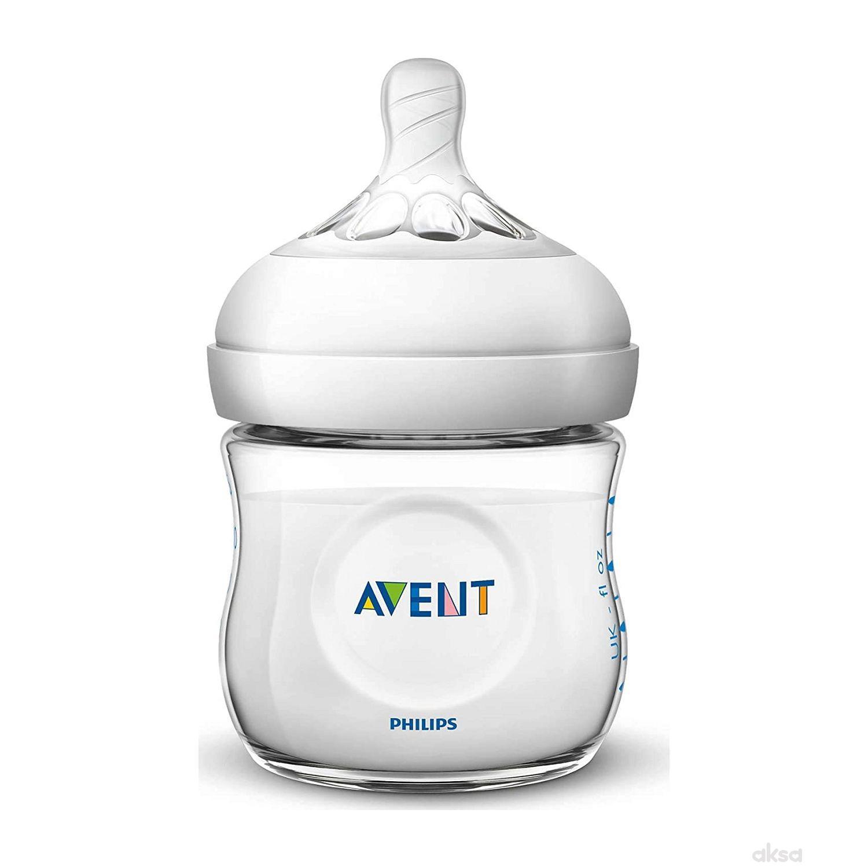 Avent Natural plastična flašica 0m+ 125ml 6366