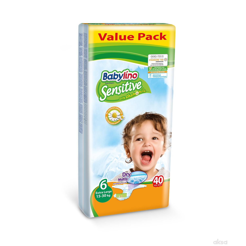 Babylino pelene sensitive VP 6 ex.l. 15-30kg 40kom