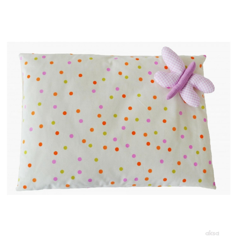 Baby Textil jastuk 3D leptir ,40x30CM