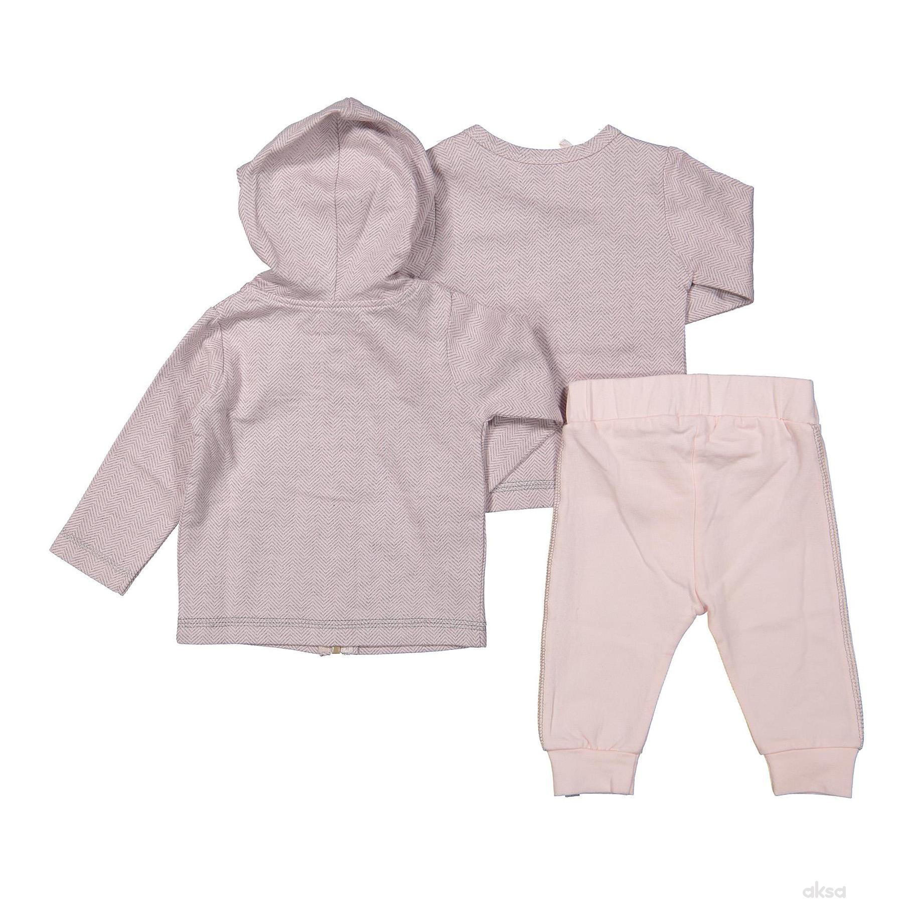 Dirkje komplet(duks,majica d.r,d.deo),devojčice