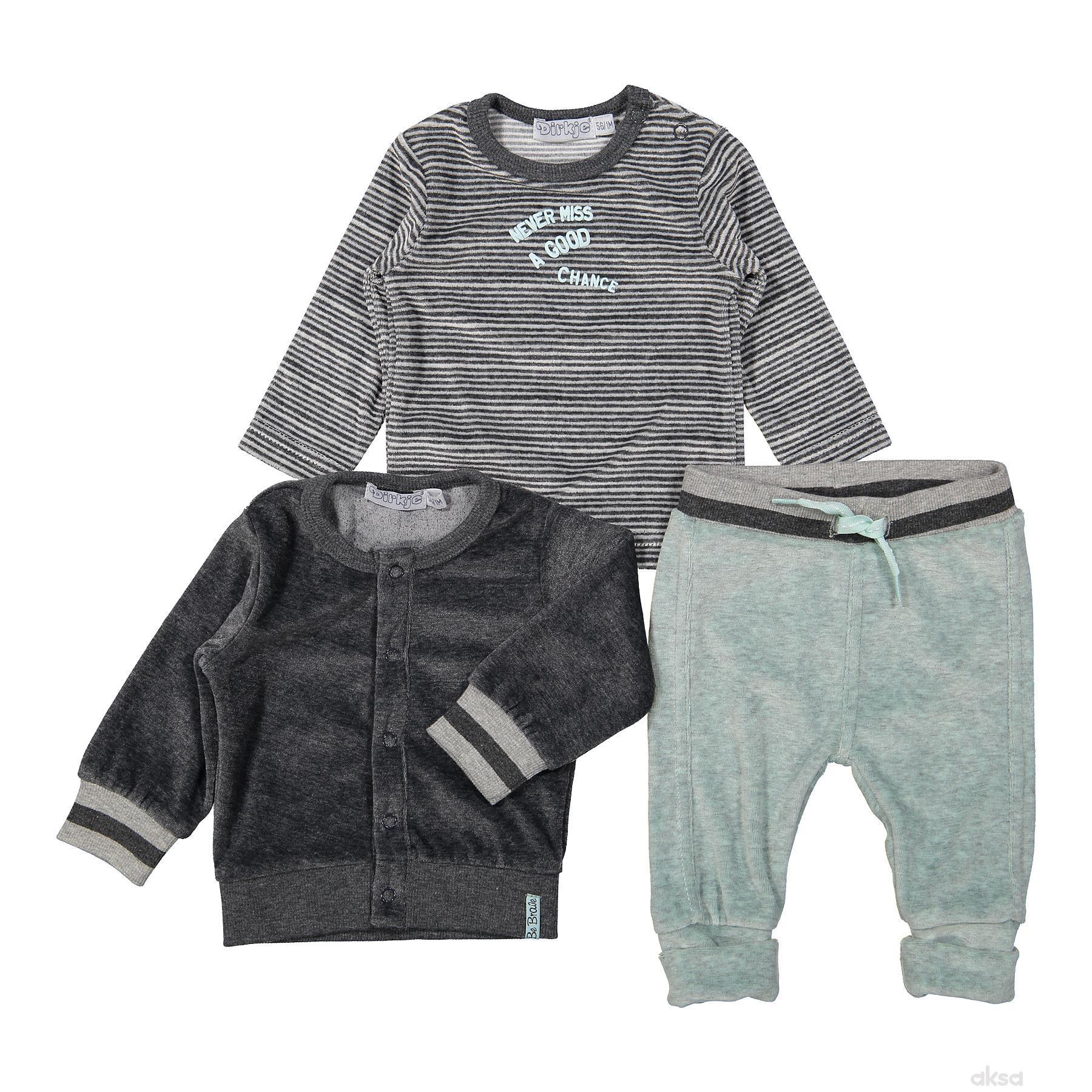 Dirkje komplet(duks,majica d.r,d.deo),dečaci