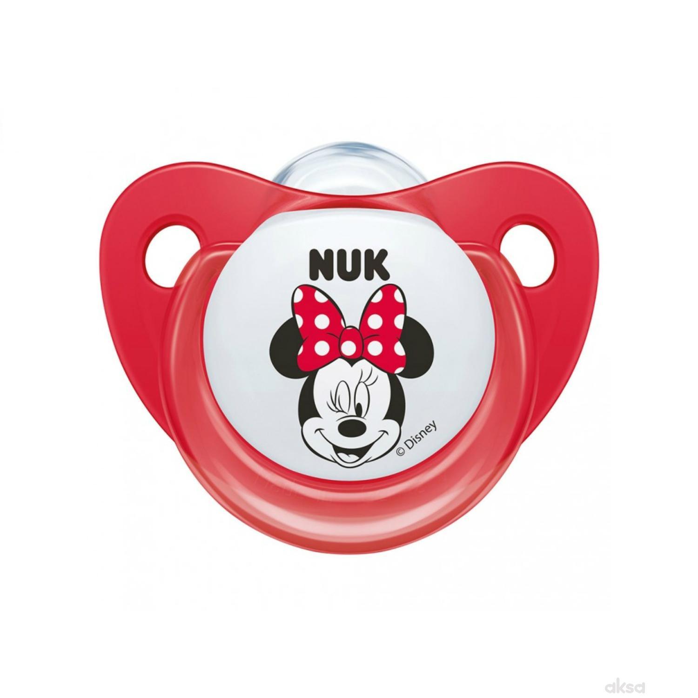 Nuk laža silikon Mickey, 0-6m new