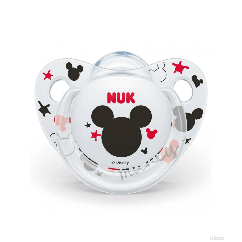Nuk laža silikon Mickey, 6-18m new