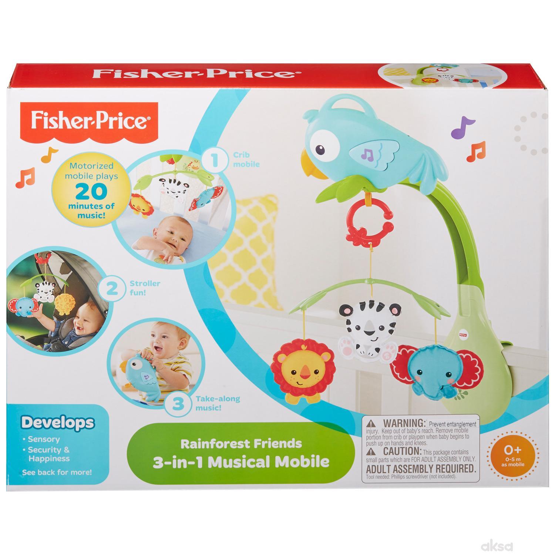 Fisher Price projektor 3 u 1