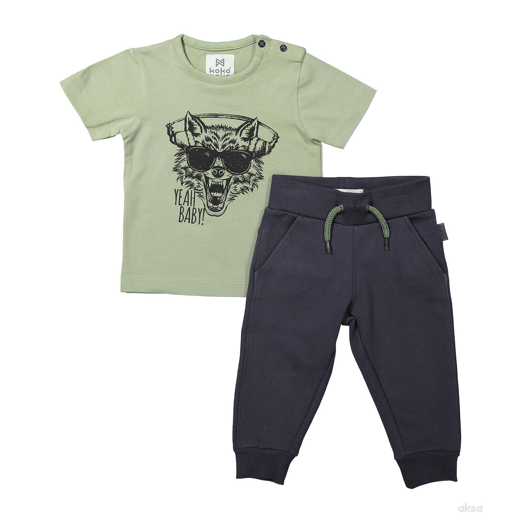 Dirkje komplet (majica k.r i donji deo),dečaci