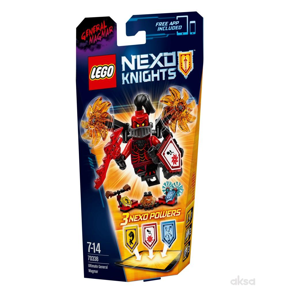 Lego Nexo knights ultimate general magmar