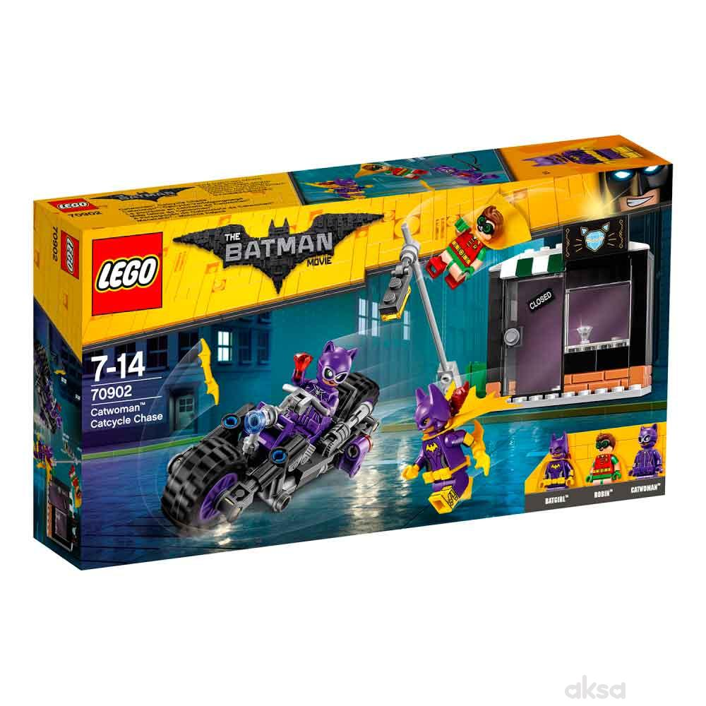 Lego Batman movie catwoman catcycle chase