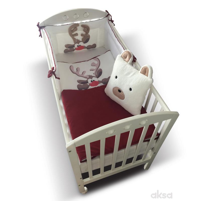 Lillo&Pippo punjena posteljina Irvas