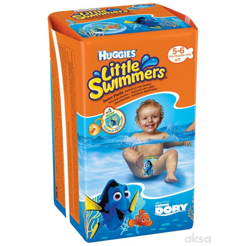 Huggies pelene za kupanje 5-6, 12-18kg, 11 kom