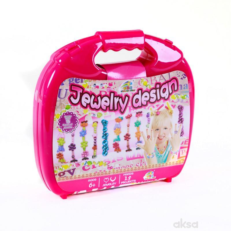 Hk Mini igračka nakit set u koferu
