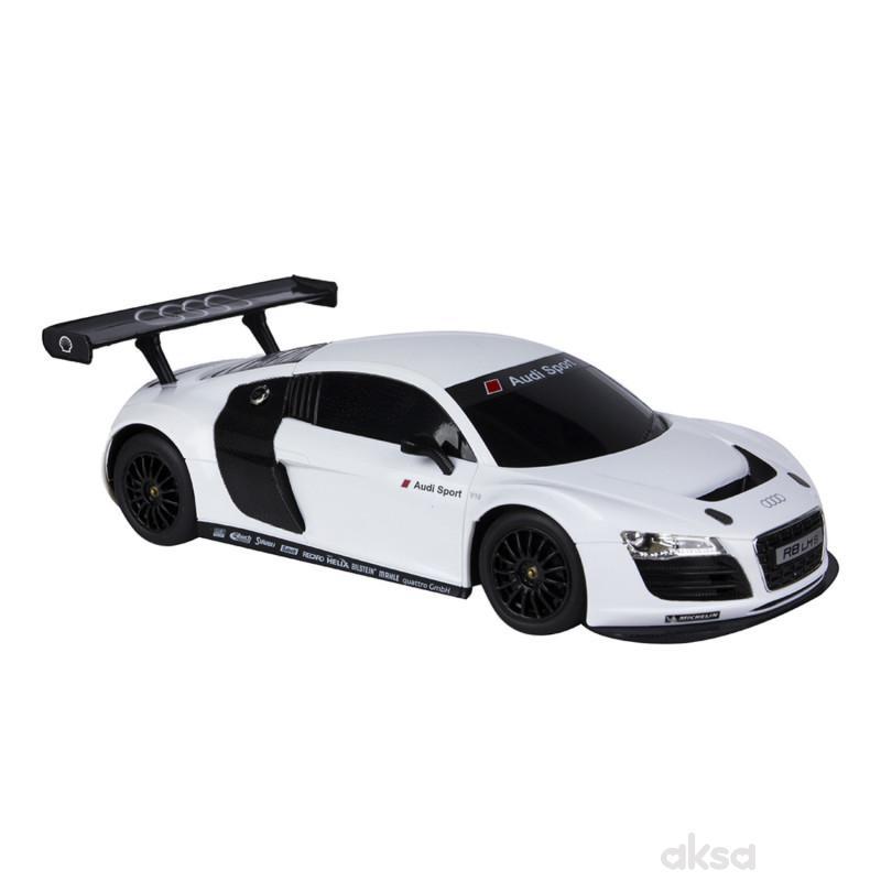 Rastar igračka RC automobil Audi R8 1:18 -bel,siv