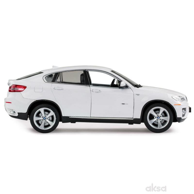 Rastar automobil BMW X6 1:24 - crv, bel
