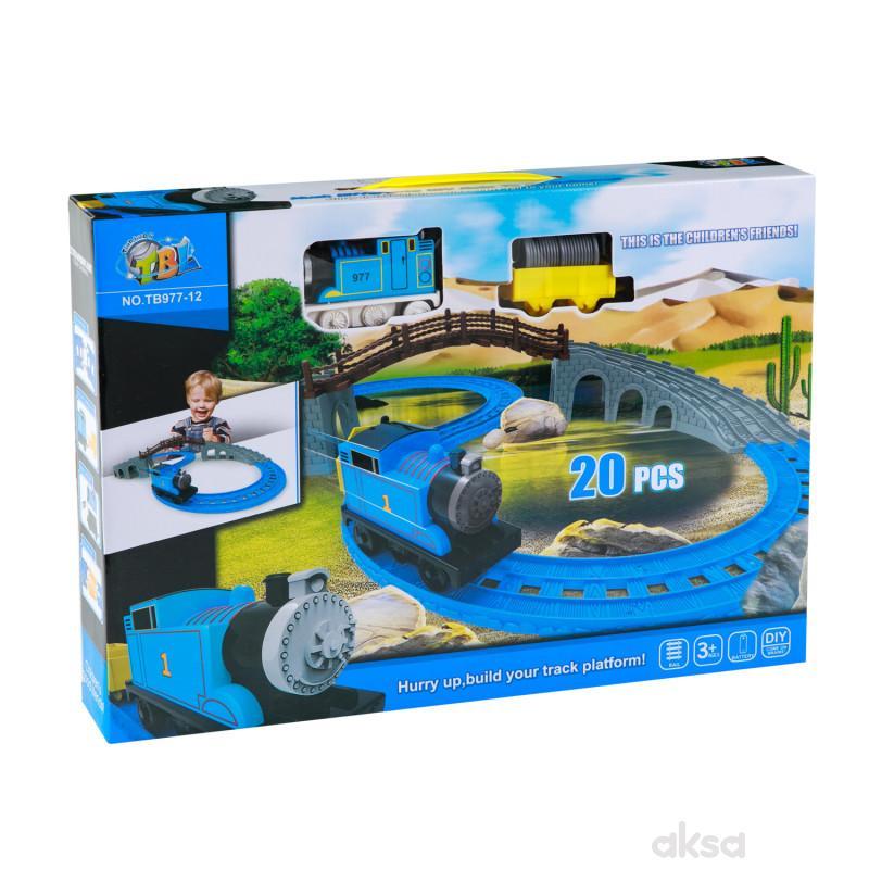 Hk Mini igračka voz sa mostićem