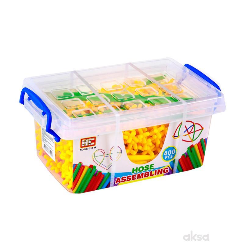 HK mini igračka edukativni set slamčica -kutija