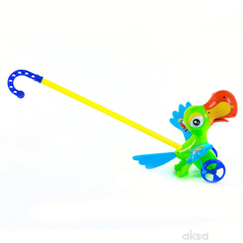 Hk Mini igračka guralica ptica