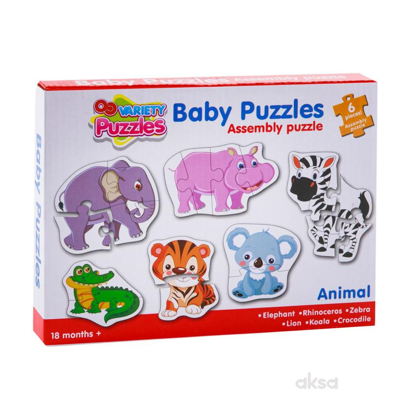 HK Mini baby puzzle safari