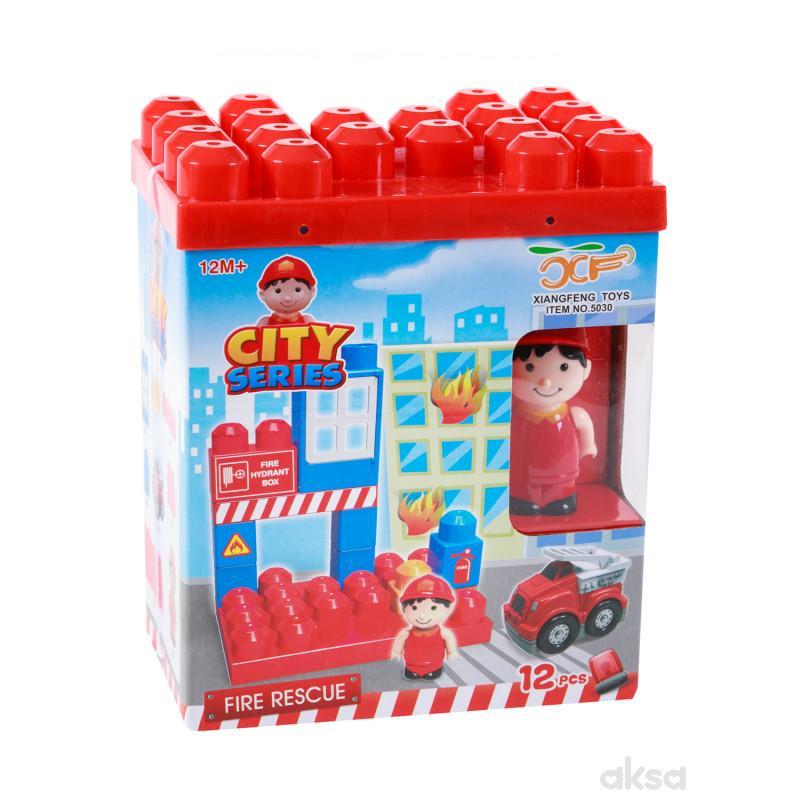 HK Mini baby kocke vatrogasci