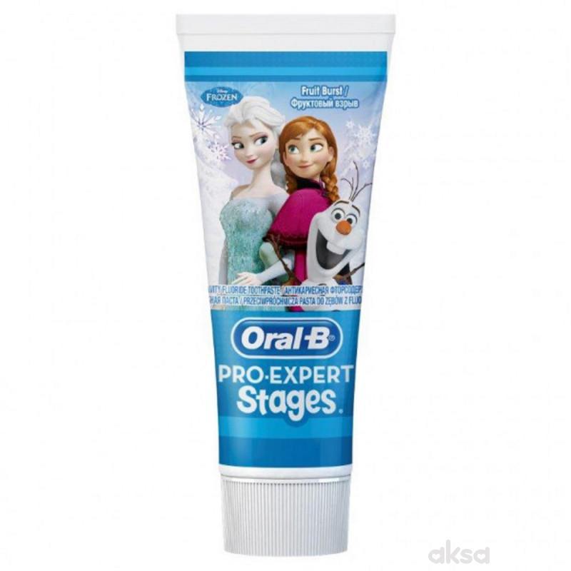 Oral B pasta za zube Frozen 75ml