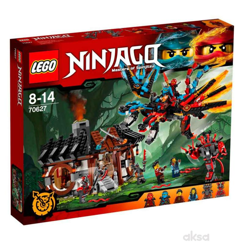 Lego Ninjago dragons forge