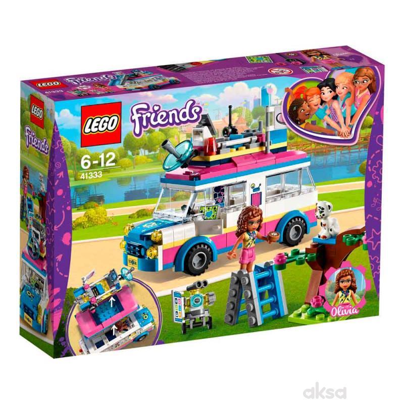 Lego friends Olivias mission vehicle