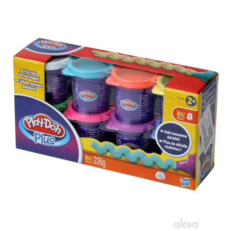 Play-doh plus 8 pakovanja