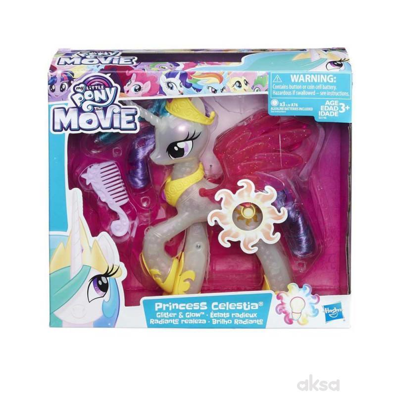 Mlp Glimmer And Glow Princess Celestia