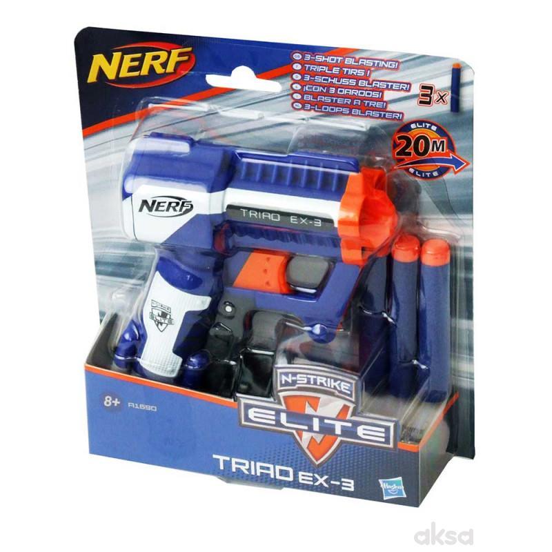 Nerf pistolj triad ex3
