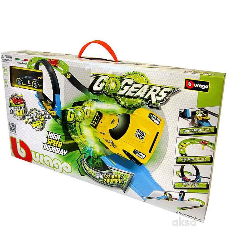 Burago go gear 1:55 high speed autoput