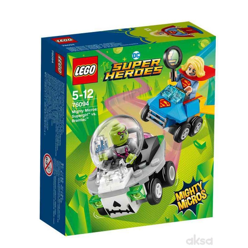 Lego Super heroes mighty micros Supergirl vs Brain