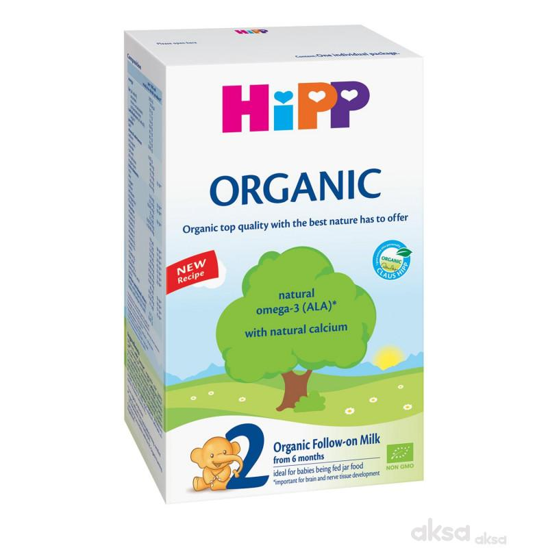 Hipp mleko organic 2 800g