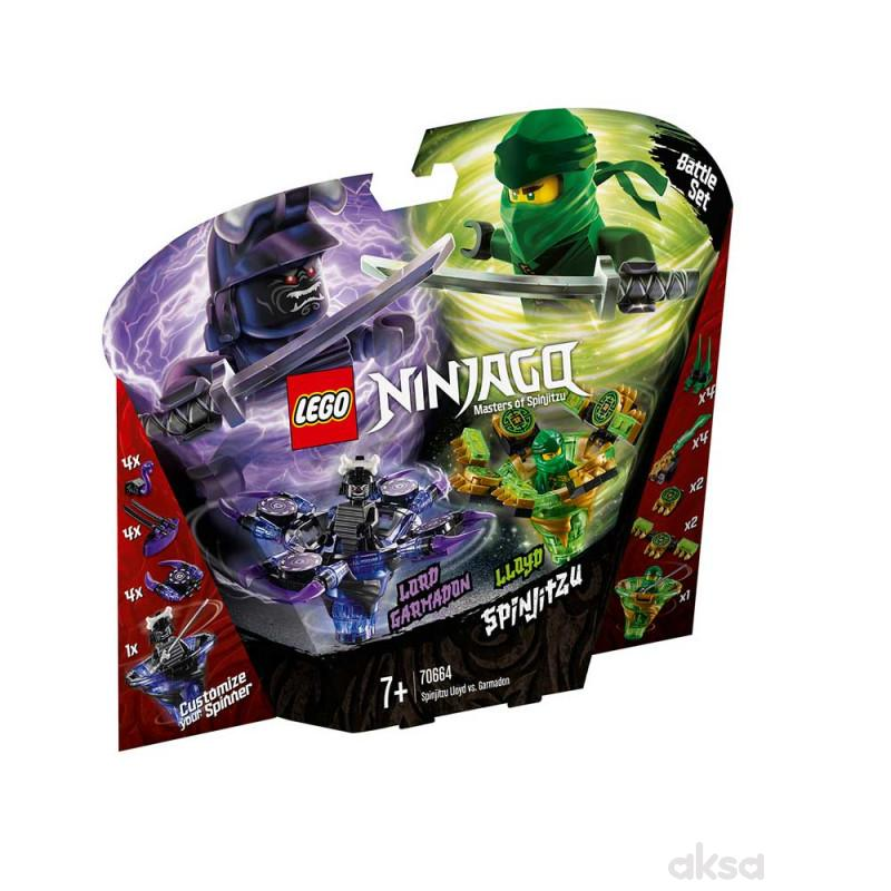 Lego Ninjago Spinjitzu Lloyd Vs. Garmadon