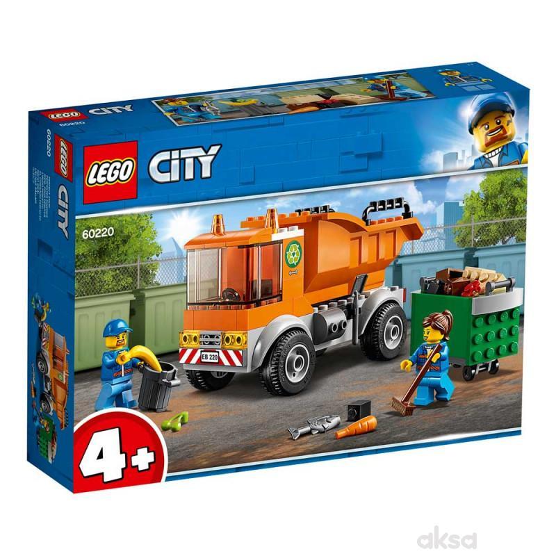 Lego City Garbage Truck