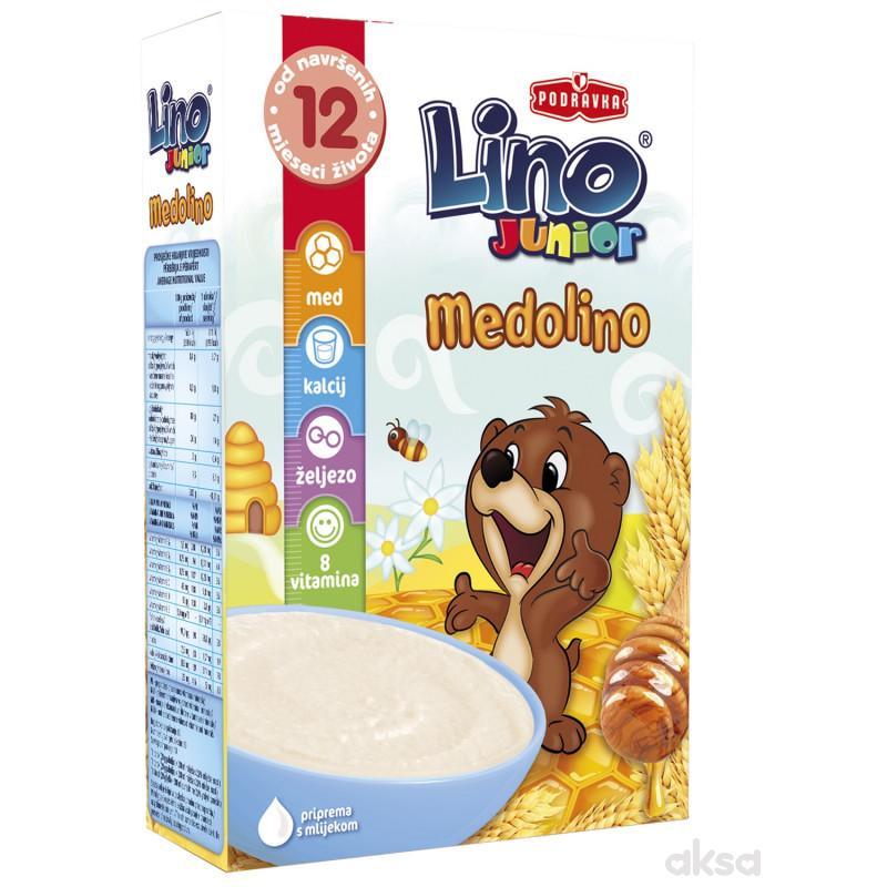 Lino bezmlečna instant kaša junior medolino 200g