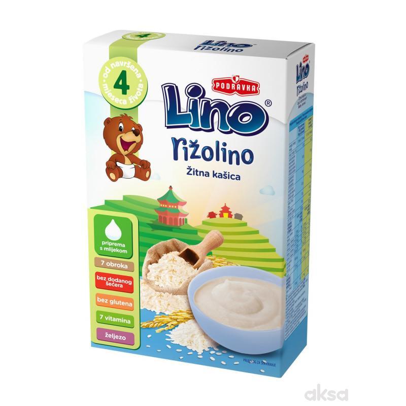 Lino bezmlečna instant kaša rižolino 150g