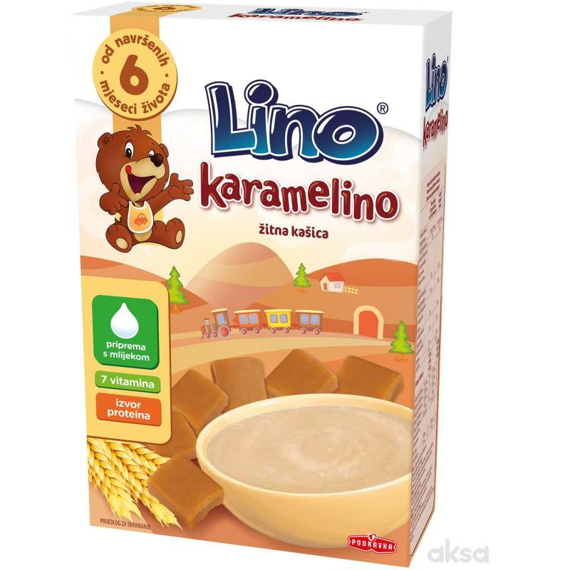Lino bezmlečna instant kaša karamelino 200g