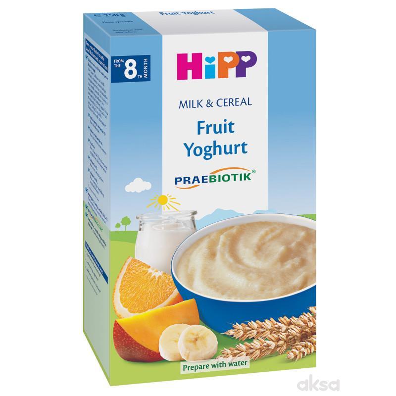 Hipp mlečna instant kaša voće sa jogurtom 250g