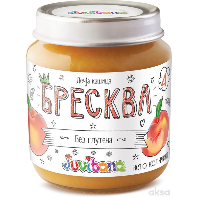 Juvitana kašica breskva 128g