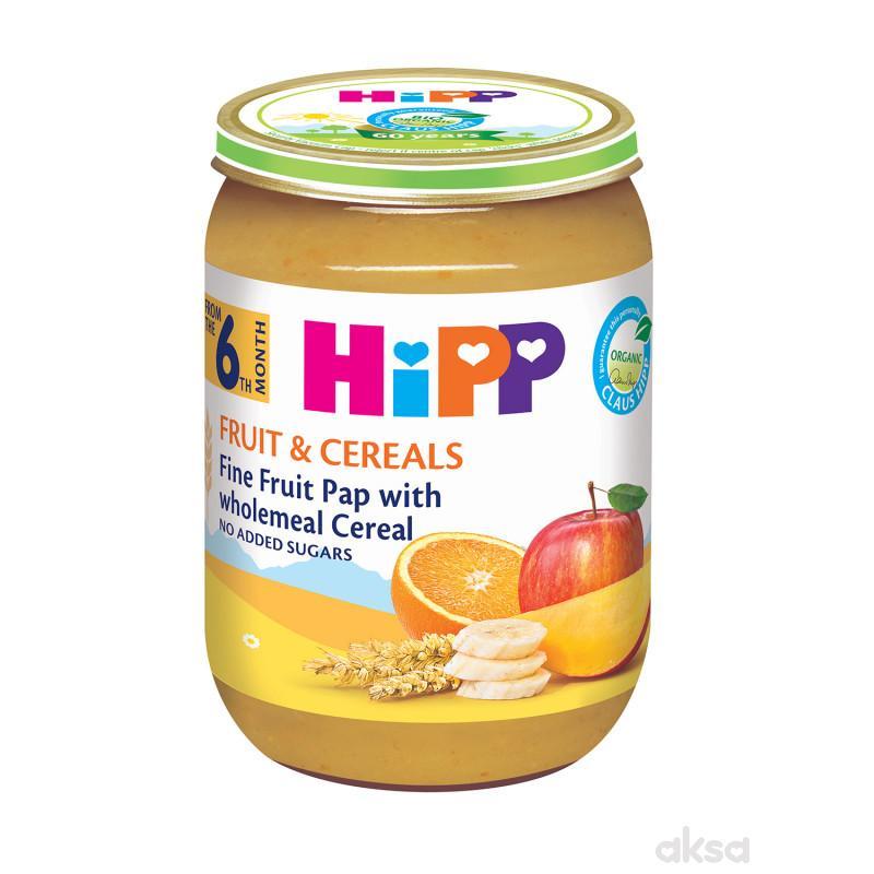 Hipp kašica integralne žitarice sa voćem 190g