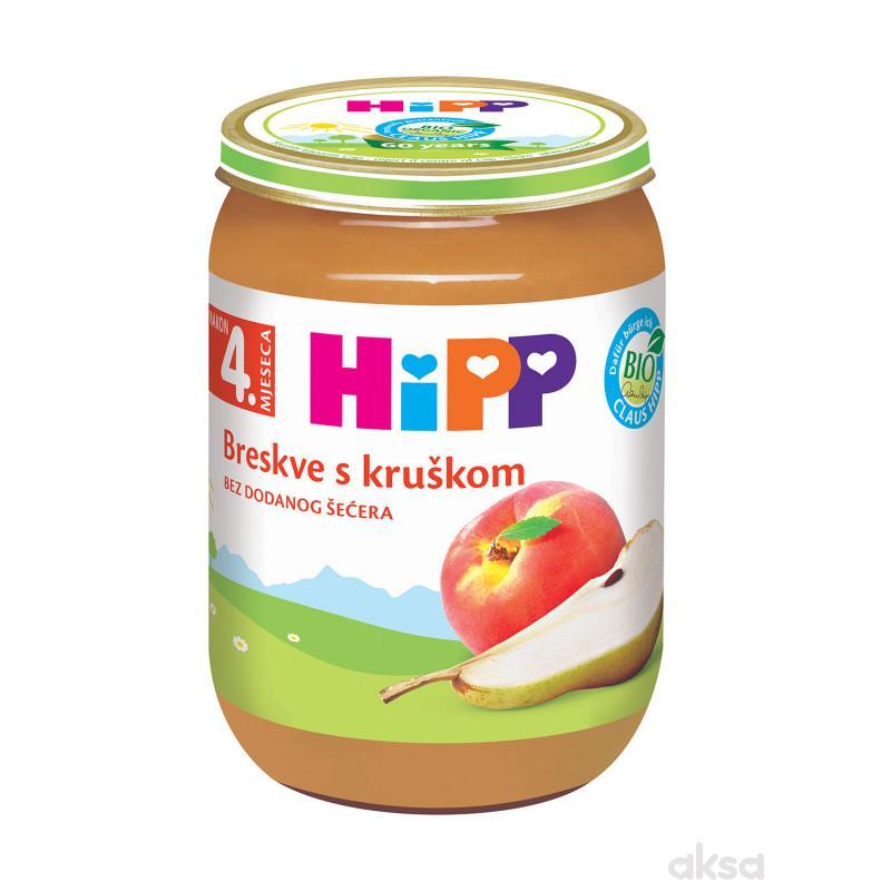 Hipp kašica breskva i kruška 190g