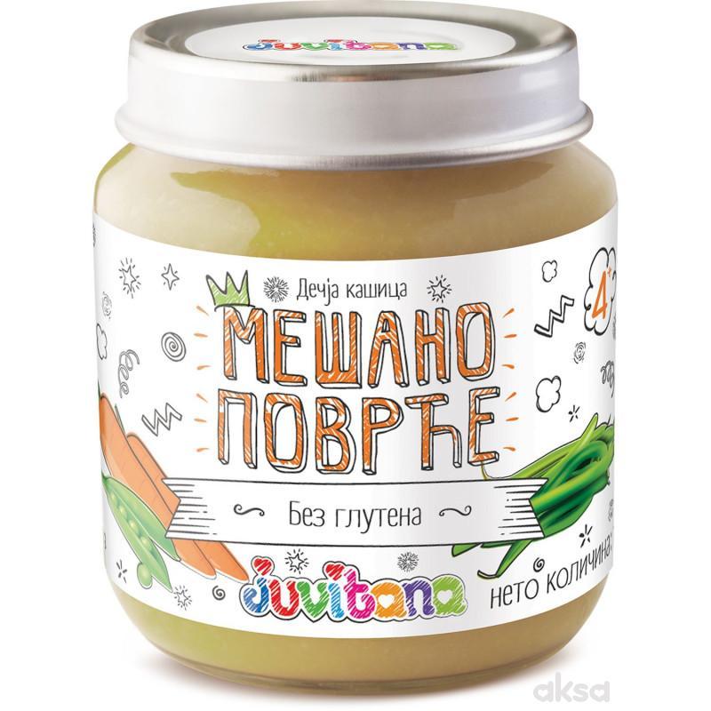 Juvitana kašica mešano povrće 128g