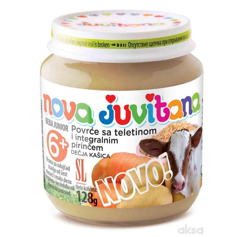 Juvitana kašica povrće sa tel. i int.pir. 128g