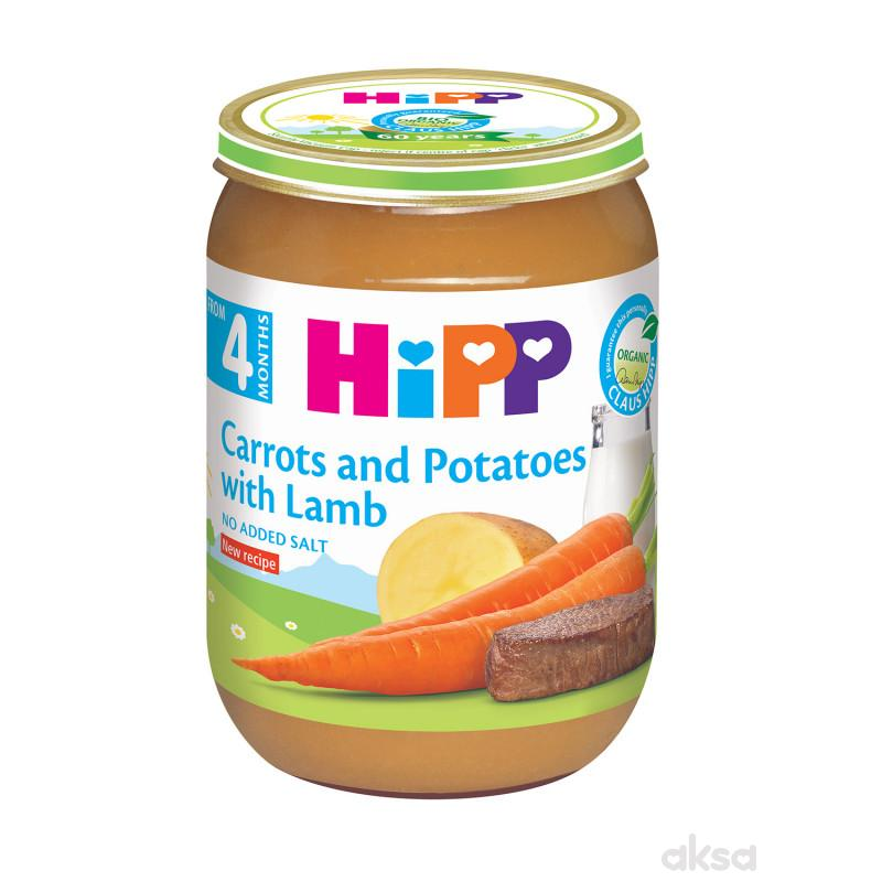 Hipp kašica jagnjetina sa šargarepom i kromp.190g